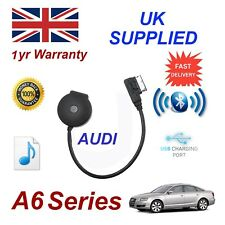 para AUDI A6 Música Bluetooth Streaming USB Módulo MP3 ipod htc lg nokia sony