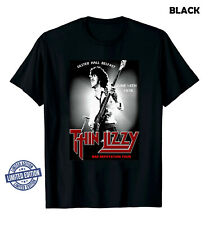 Official Thin Lizzy T-Shirt Grab It Fast - Lizzy Classic Rock Band Unisex Cotton