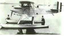 WWII CURTISS SEAPLANE U.S. NAVY BIPLANE AIRPLANE A-6970 5 X 7 B & W PHOTOGRAPH