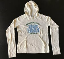 Juicy Couture Ivory Lightweight Pullover Hoodie Size XL