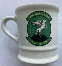 UNITED STATES AIR FORCE 48TH RESCUE SQUADRON NIGHT RIDERS COFFEE MUG
