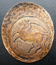 """""""PEGASUS"""" GREEK WINGED HORSE INTAGLIO PRINTING PLATE CAN.SHIPPING $1.99 US"""
