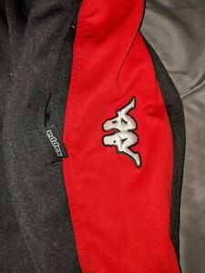 KAPPA Pants Unisex AUTHENTIC - Red black white - Men's Size XXL - Sportswear