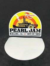 Pearl Jam Authentic Tour Sticker Moline IL October 17 2014 Show Mint No Code