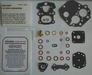 1966 BMW 1600 2000 MODELS CARBURETOR KIT 2 BARREL SOLEX 32 PAIAT NEW ETHANOL TOL
