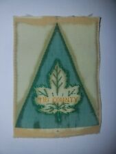 Canadian Scout Tri County District Badge RARE