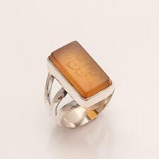 Unique Islamic Surah Ayat Kursi Muslim 925 Sterling Silver Arbabic Jewelry Ring
