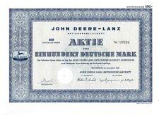 John Deere - Lanz  Mannheim 100DM  1963
