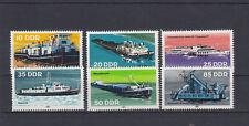DDR 2651-2656 (Schiffe) ** (099)