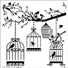 "Pochoir Décor ""mini Butterfly Collage""- 15x15cm (6""x6"") - TCW"