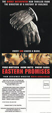 EASTERN PROMISES THE MOVIE UNUSED ADVERTISING COLOUR POSTCARD (c)