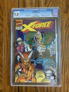 1991 X-Force #1 CGC 9.8  with 2 Sealed Bagged Comics