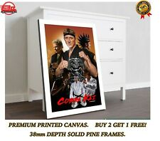 More details for cobra kai karate kid tv show art large canvas art print gift a0 a1 a2 a3 a4