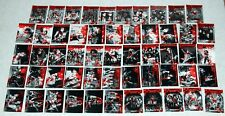 KISS 360 Degrees Press Pass Gene Simmons BLOOD PARALLEL 54 of 90 Card Set 2009