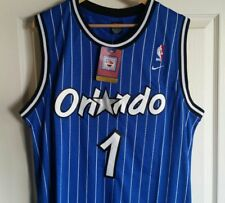 NWT Penny Hardaway Orlando Magic Retro Throwback Jersey Stitched Size L Blue 20439f032