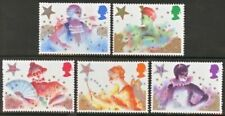 Gb Mnh Scott 1124-1128, 1985 Christmas complet set of 5