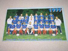 Photo France 98 : l'équipe de France championne du Monde