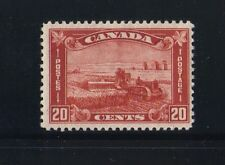Canada  #175  1930  20 cent Harvesting wheat MNH VF  brown red   superb SCV 85