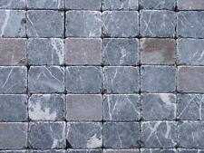 Natursteinplatten 20x15 Naturstein-Pflaster grau-bunt getrommelt
