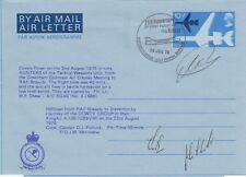 HA7 RAFM Air Letter Capt Albert Ball Flown Lightning Pilot Signed