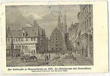 E 205-Braunschweig estuviste, 1920 corriendo, desgarro abajo en el centro hasta imagen