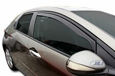 HONDA CIVIC hatchback 2006-2012 Front wind deflectors 5 door 2pc TINTED HEKO
