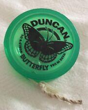 Duncan Butterfly Original Green Yo Yo Classic Yo-Yo Acrylic See Through Toy YoYo