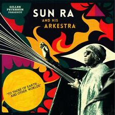Sun Ra - To Those of Earth - NEW SEALED 2 LP set w/ gatefold + CD enclosed