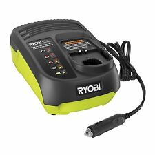 Ryobi ONE+ CAR BATTERY CHARGER 14.4 -18V Dual-Chem Low Voltage Alarm LED Light