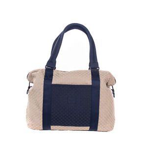 RRP €255 HERSCHEL SUPPLY CO. Woven Collection Travel Bag 28.5L Two Tone Zipped