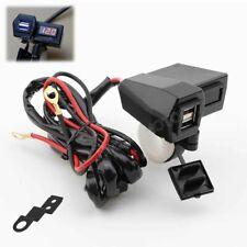 LED Voltmeter USB Charger For Honda VTX 1300 1800 TYPE C R S N F T RETRO