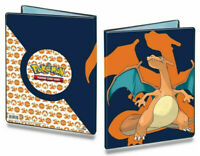 Charizard Pokemon Ultra Pro Album Folder 9 Pocket Portfolio Holds 180 Cards