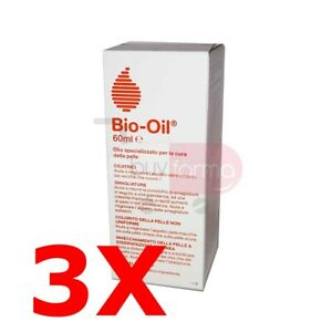 BUYFARMA PROMO PACK - 3X Bio Oil da 60ml - Specifico per Smagliature - 180 ml