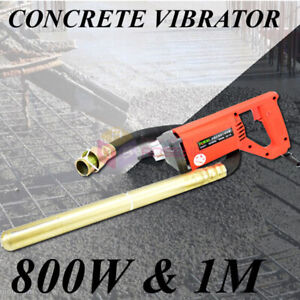Concrete Vibrator 35MM Stable Voltage 800W Motor Simple to Handle Construction