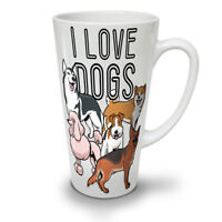 Dog Person NEW White Tea Coffee Latte Mug 12 17 oz | Wellcoda