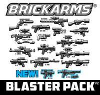 BRICKARMS BLASTER Pack V2 2018 for Minifigures Star Wars Limited Edition NEW