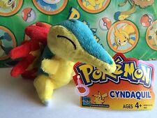 Pokemon Plush Hasbro Cyndaquil stuffed doll toy New 2005 USA Seller chikorita
