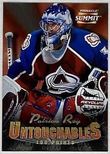 ✨Stunning /1000!! Patrick Roy 1996-97 Pinnacle Summit Untouchables!