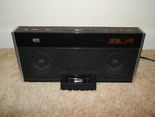 Altec Lansing M402 iPod Docking Station w/ AM/FM Radio Aux Input Dual Alarm
