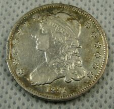 1831 Bust Quarter Fine-VF Cleaned Small Letters