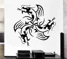 Wall Decal Dragon Myth Medieval Movie Fantasy Monster Cool Decor Interior z2701