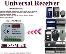 Motorlift / HOMENTRY compatible receiver for 433,92Mhz remote controls