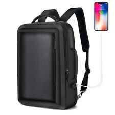 Men Business Backpack Travel Waterproof Slim Laptop Backpack School Bag Office