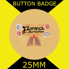 "FLORENCE AND THE MACHINE LUNGS - IMAGE-BUTTON BADGE 25MM/1"" D PIN GREAT GIFT"