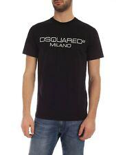 Dsquared T-Shirt Herren Shirt Dsquared2 D2 Print - S74GD0644 -  NEU