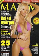 Maxim Ungarn / Hungary 07/02 Keleti Györgyi Lucy Pinder Fargo Athena Kiss Zsoka