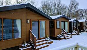 2022 Sunrise Lodge II - 40x20 - Granny Annex   Residential Mobile Log Cabin