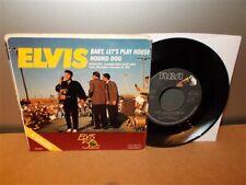 Elvis Presley . Hound Dog / Baby Let's Play House . Rare Black Vinyl . 45