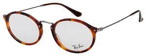 Ray-Ban Eyeglasses RX 2547V 5831 53 Havana,Tortoise; Gunmetal Frame [53-21-145]