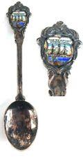 The Mystic Seaport Mystic CT Vintage Collector's Souvenir Spoon Connecticut